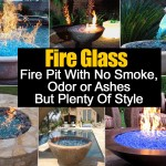 Fire Pit With No Smoke, Odor or Ashes And Style