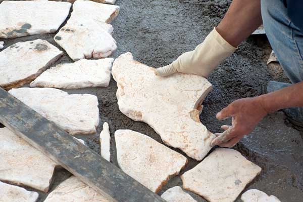 flagstone landscaping. Build A Flagstone Patio! Flagstone Landscaping