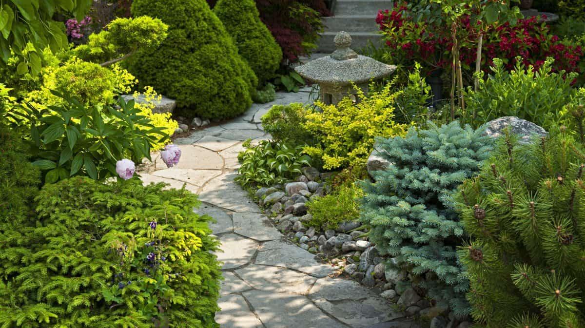 flagstone walkways and paths