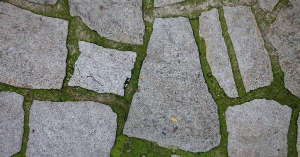 flat garden stone pathway