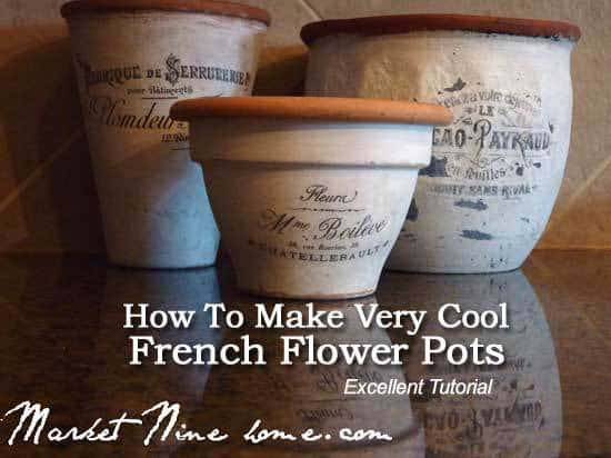 french-flower-pots-2-073113 & How To Make Very Cool French Flower Pots Tutorial -