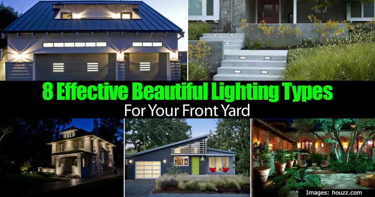 front yard lighting ideas