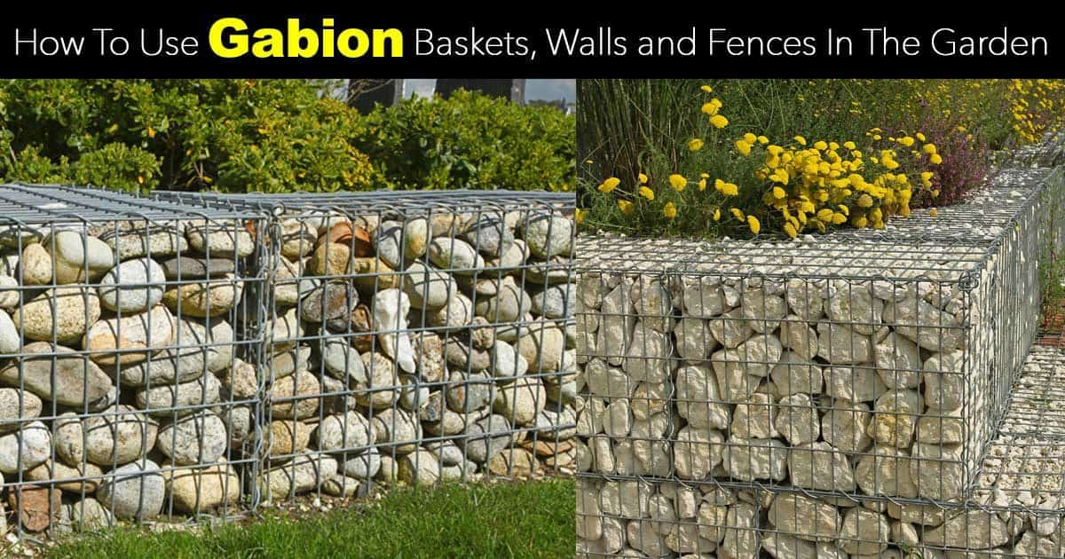 gabion baskets walls and fences