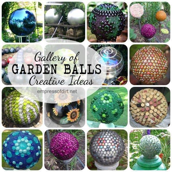 Garden Balls Gallery Of Creative Ideas