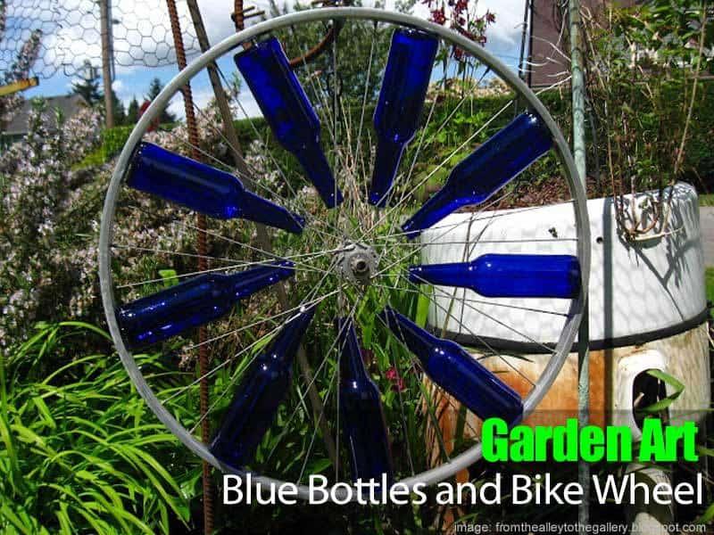 garden-art-bottles-wheel-083114