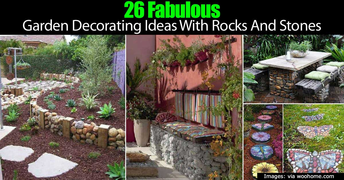 How To Use Landscape Rocks And Stones In The Garden -