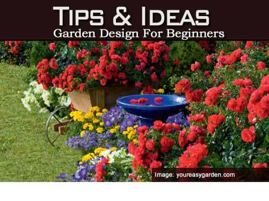 tips on garden design for beginners 3 part series