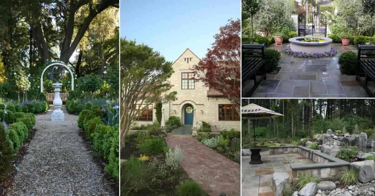 a collection of garden floor materials