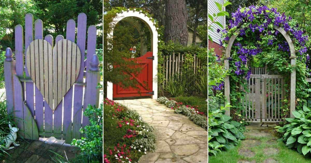 Garden Gates How To Make A Great Entrance