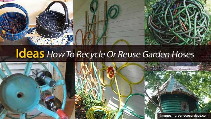 Ideas How To Recycle Or Reuse Garden Hoses