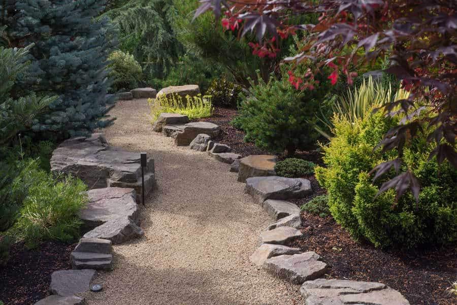 17 garden path ideas great ways to create a garden walkway for Paysagement exterieur