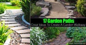 collection of garden path ideas