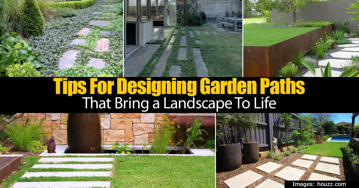 Tips For Designing Garden Paths That Bring A Landscape To Life -