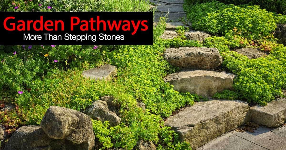 10 Landscaping Ideas For Using Stepping Stones In Your Garden: How To Ideas On Garden Pathways With Stepping Stones