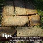 Garden Steps: Pathways In Landscape Garden Design