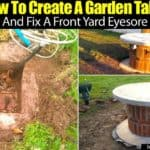 How To Create A Garden Table And Fix A Front Yard Eyesore