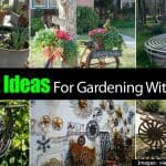 15 Great Ideas For Gardening With Antiques