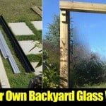 Build Your Own Backyard Glass Waterfall