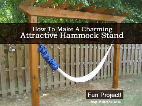 hammock stand 2 071313 how to make a charming attractive hammock stand    rh   plantcaretoday
