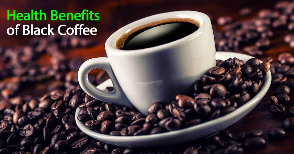 health benefits black coffee