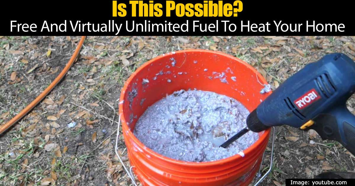 Is This Possible Free And Virtually Unlimited Fuel To