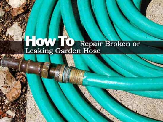 How To Repair Broken Or Leaking Garden Hose Video