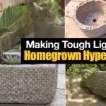 How To Make Tough Lightweight Homegrown Hypertufa Pots