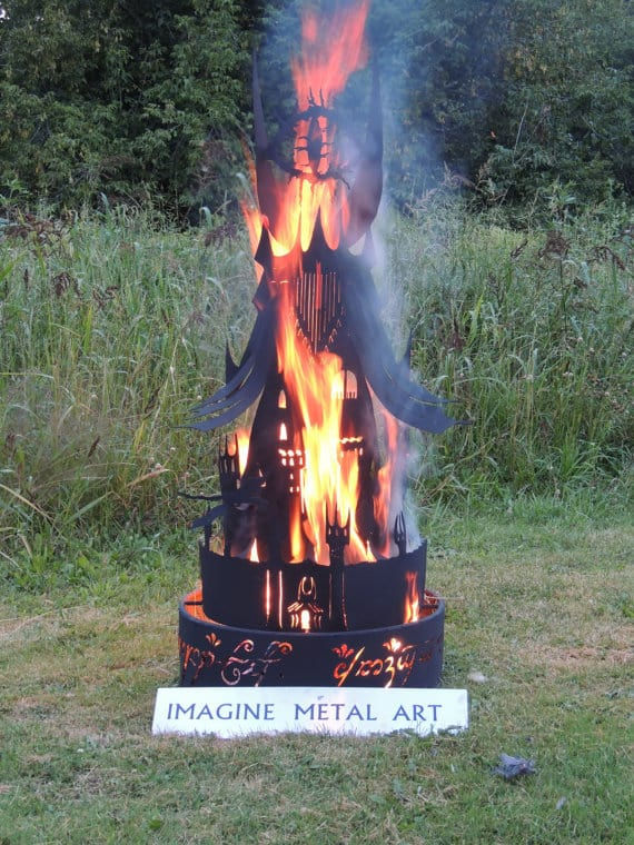 10 Amazing Amp Beautiful Metal Fire Pits That Are Works Of