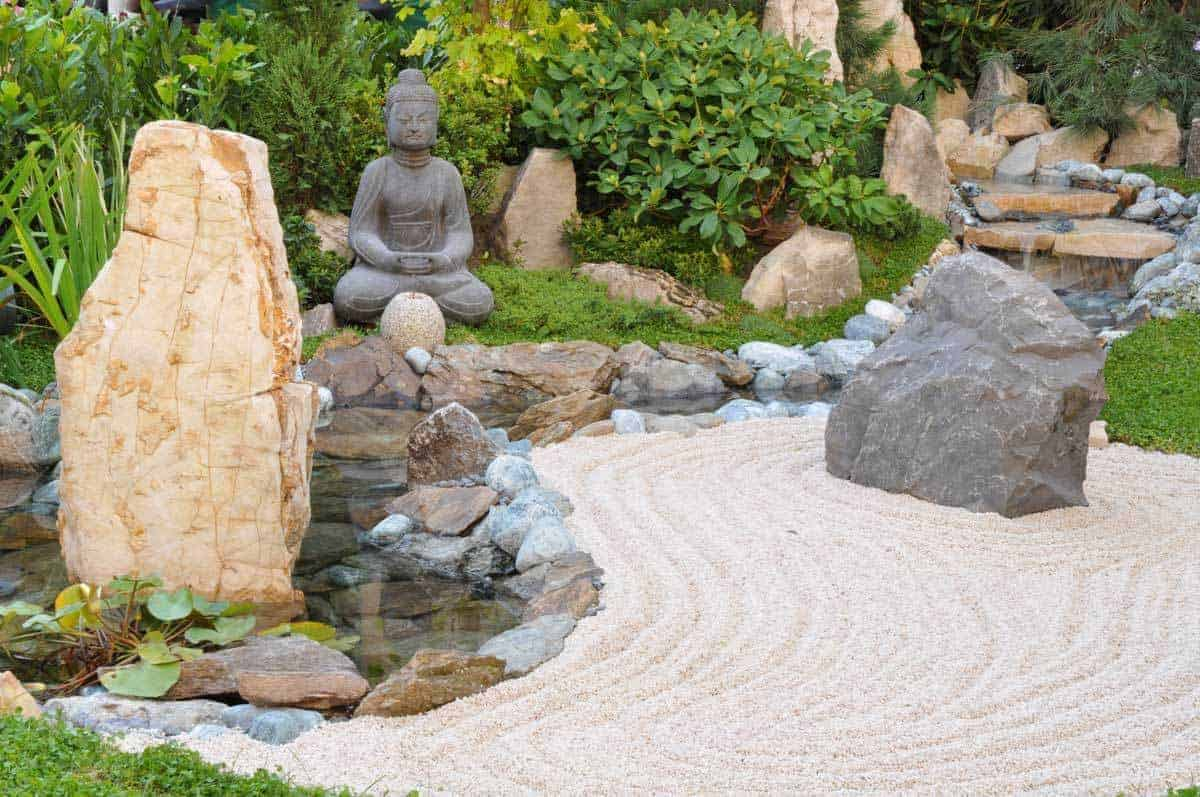 Small Japanese Garden Transforms This Backyard - Watch on