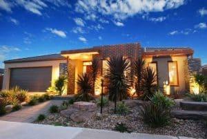 Uplighting the home landscape