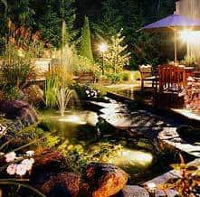 Pathway lighting security for walkways decks and accent features we decided to be creative and illuminate our walkway with outdoor solar garden lighting instead of using a low voltage lighting kits aloadofball Choice Image