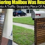 Boring Mailbox Was Revamped Into A Traffic-Stopping Piece Of Art