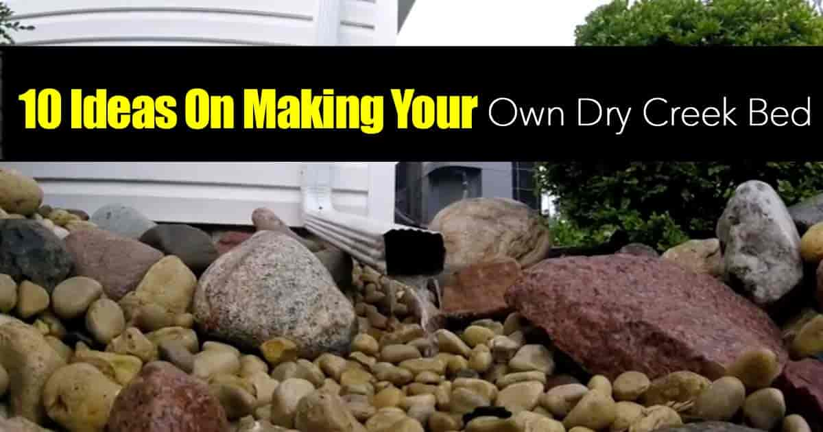 - 10 Ideas On Making Your Own Dry Creek Bed -