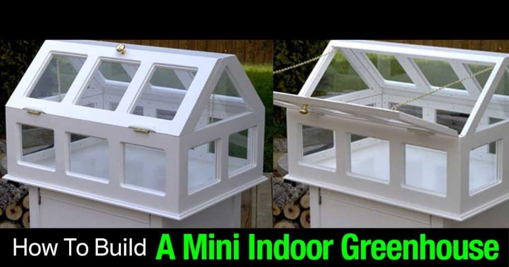mini indoor greenhouse