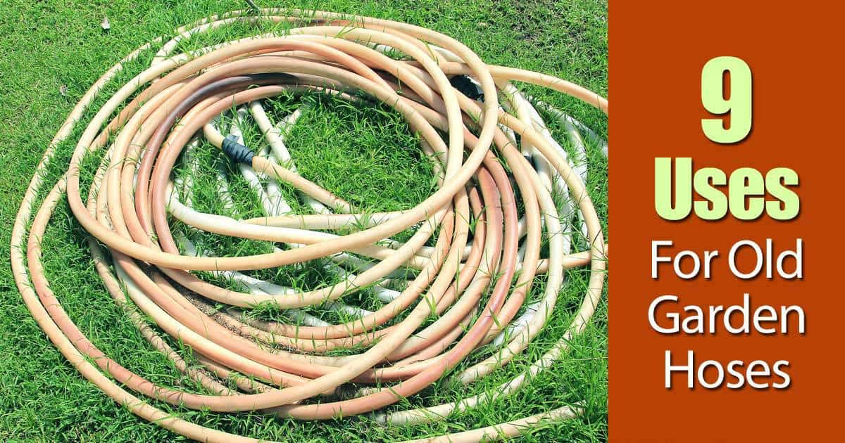 9 Uses For Old Garden Hoses