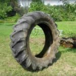 Old Tractor Tire Becomes A Beautiful Pond