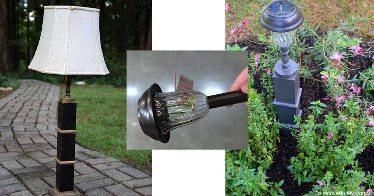 outdoor-recycled-solar-lights-10312016 & Make Outdoor Solar Lighting From Recycled Unique Lamps -