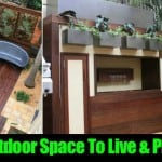 Outdoor Space To Live & Play