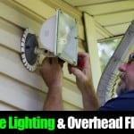 Landscape Lighting and Overhead Floodlights