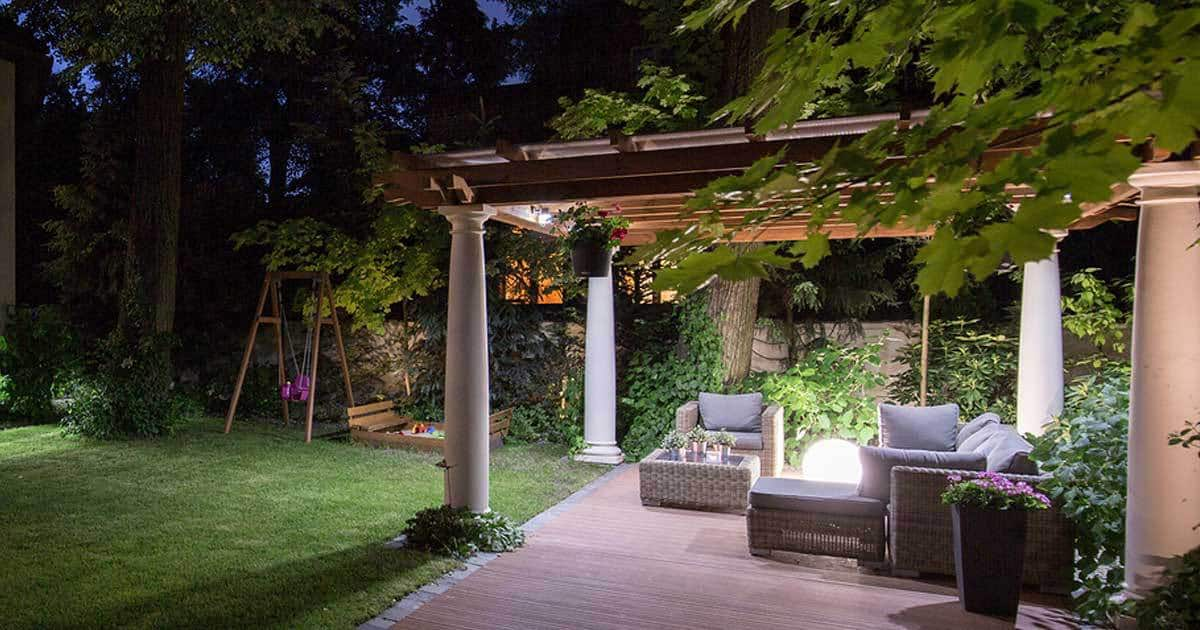 Lighting The Outdoor Patio Eating Area - Lighting The Outdoor Patio Eating Area -