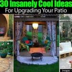 30 Insanely Cool Ideas For Upgrading Your Patio