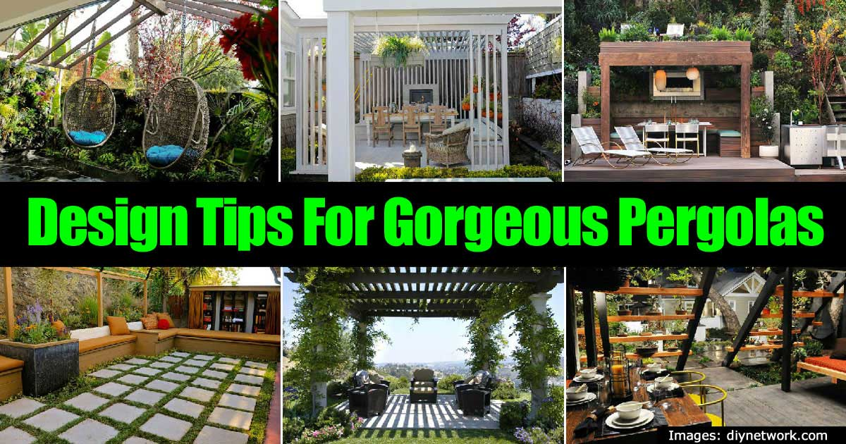 pergola design tips - Pergola Design Ideas