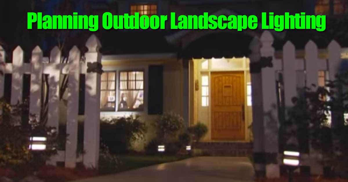 outdoor landscape lighting for the garden ideas planning and
