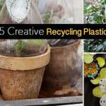 15 Creative Recycling Plastic Projects