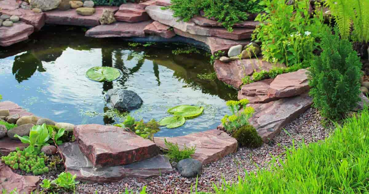 Tips for choosing the right pond liner prefab epdm for Water garden pond liners
