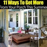 11 Ways To Get More From Your Porch This Summer