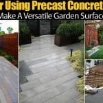 Precast Concrete Pavers A Versatile Garden Surface Solution