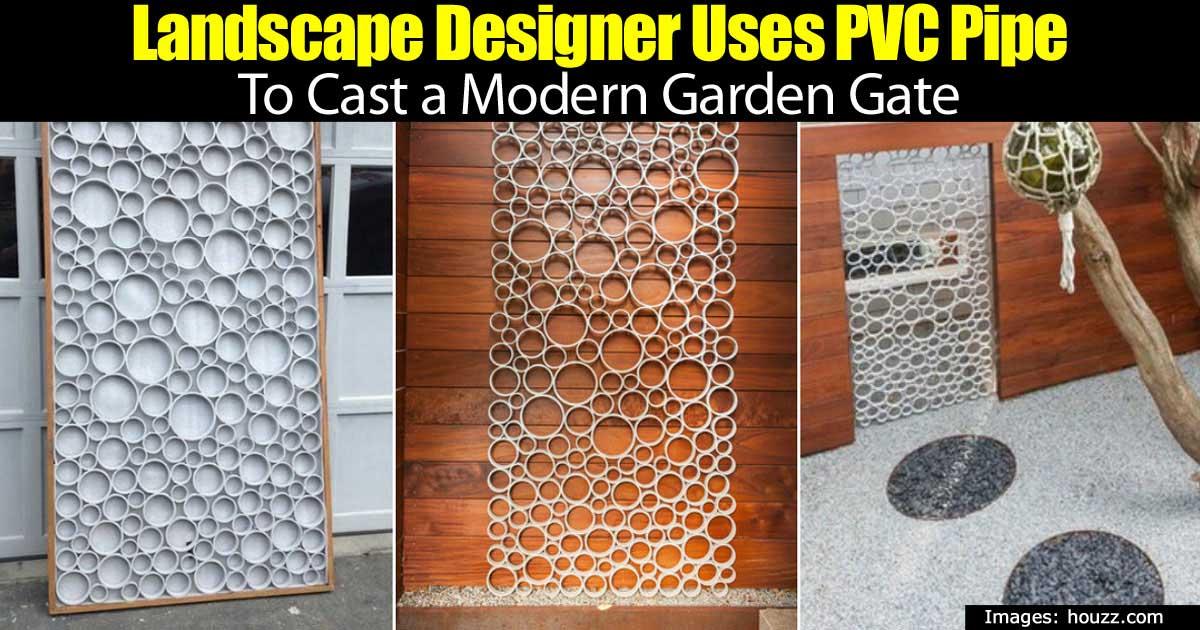 Pvc Modern Gate 93020152107