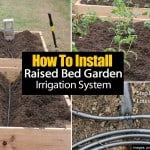 How To Install A Raised Bed Garden Irrigation System –  Step By Step