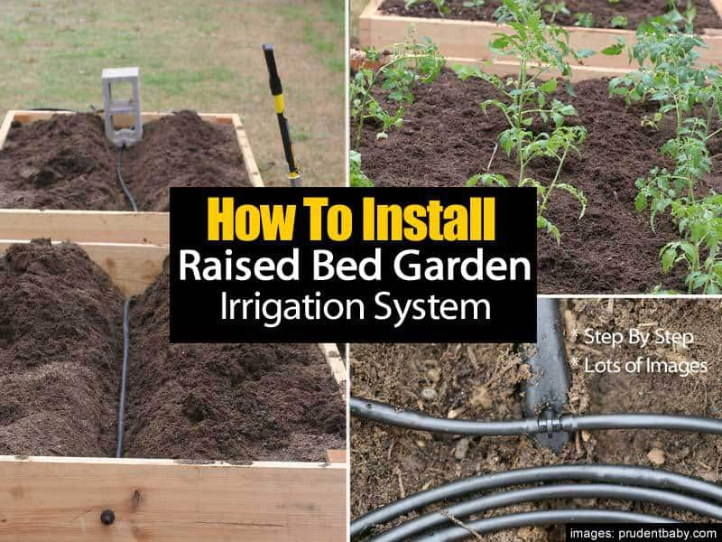 How To Install A Raised Bed Garden Irrigation System - Step By Step -